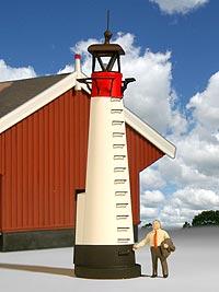 Leuchtturm Assens, Bild 1
