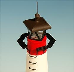 Leuchtturm Assens, Bild 3