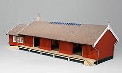 Güterschuppen Assens, Bild 2