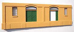 Ein Fassadeneinzelteil