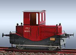 FRICHS Rangier-Traktor, FFJ M1211