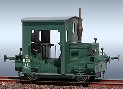 FRICHS Rangier-Traktor, DSB 72 grün