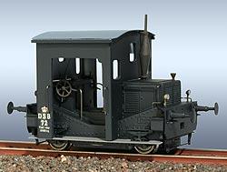 FRICHS Rangier-Traktor, DSB 72 schwarz