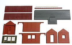 Die Teile des Bausatzes