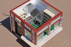 Inneneinrichtung Kiosk, Bild 1