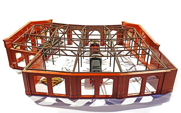 Lokschuppen Schöneweide, Bauzustand, Bild 2