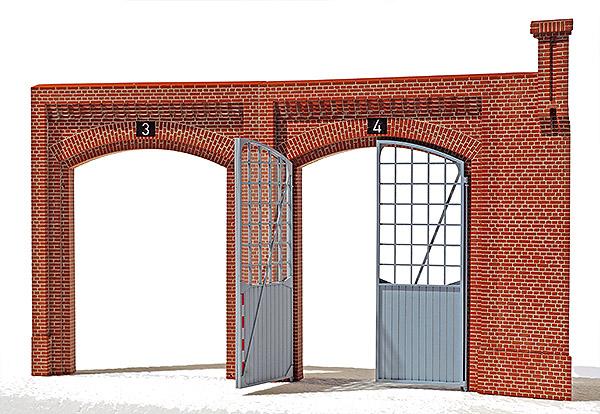 Lokschuppen Schöneweide, Bauzustand, Bild 5