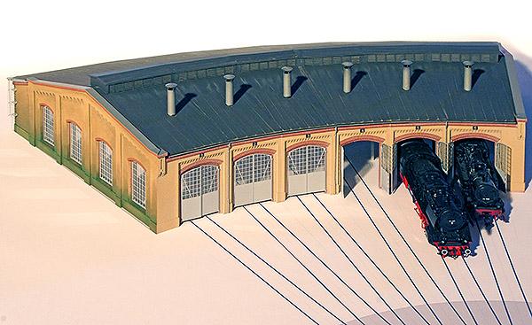 Lokschuppen Schöneweide HO, Bild 1