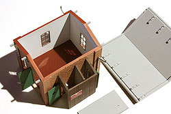 Das Dach ist abnehmbar