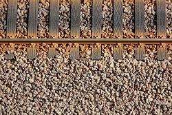 Gleisschotter, Spur O, Bild 1