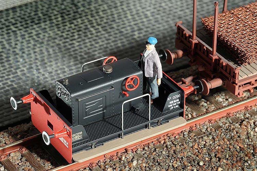 Plan von Bausatz Zug Lok